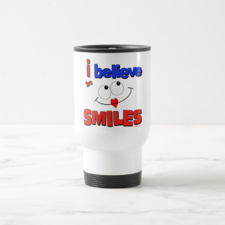 I believe in smiles mugs
