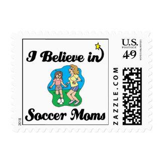i believe in soccer moms stamps