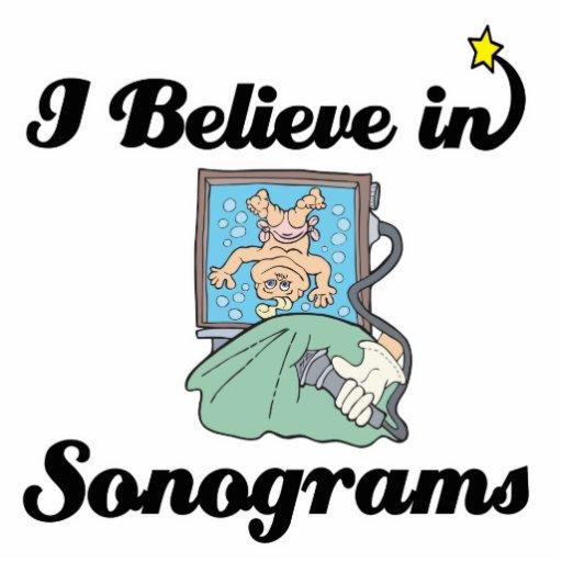 i believe in sonograms photo cutouts