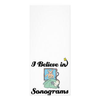 i believe in sonograms rack card