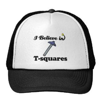 i believe in t-squares trucker hat