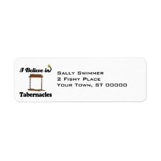 i believe in tabernacles label