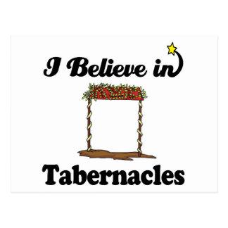 i believe in tabernacles postcard