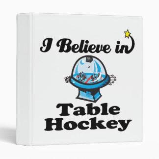 i believe in table hockey 3 ring binders
