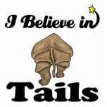 i believe in tails cut outs