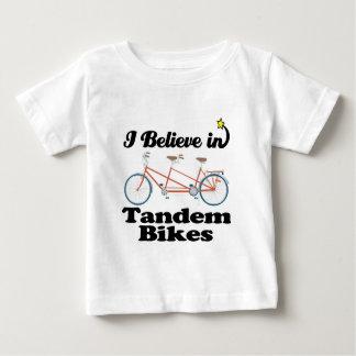 i believe in tandem bikes tees