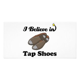i believe in tap shoes card
