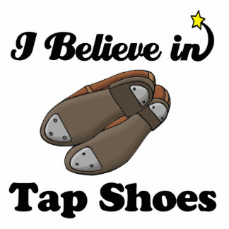 i believe in tap shoes photo cutouts