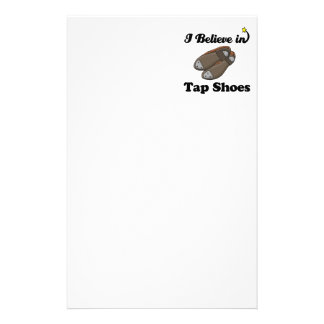 i believe in tap shoes stationery