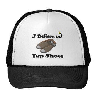 i believe in tap shoes trucker hat
