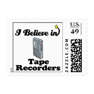 i believe in tape recorders postage