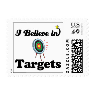 i believe in targets stamps