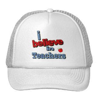 I believe in teachers hats