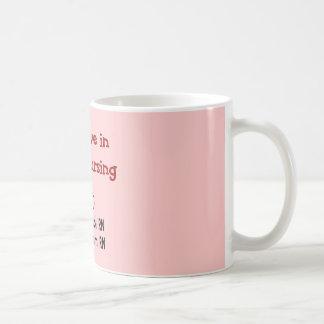 I believe in TEAM Nursing--Hilarious Nurse Gifts Coffee Mug
