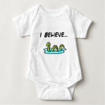 I Believe in the Loch Ness Monster Baby Bodysuit