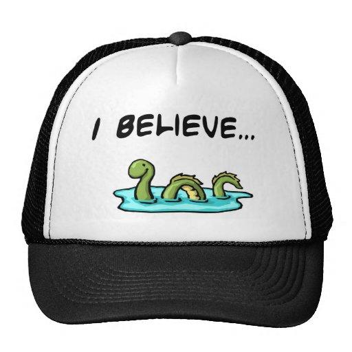 I Believe in the Loch Ness Monster Trucker Hat