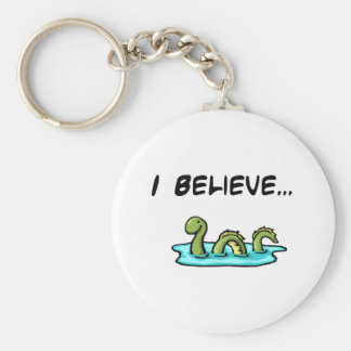 I Believe in the Loch Ness Monster Keychain