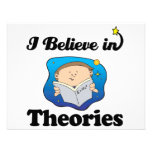 i believe in theories announcement