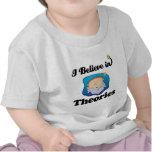 i believe in theories tee shirt