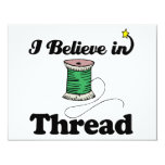 i believe in thread personalized announcements