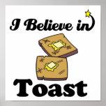 i believe in toast print