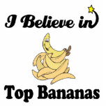 i believe in top bananas acrylic cut outs