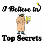 i believe in top secrets photo cutouts
