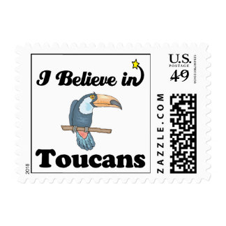i believe in toucans stamps