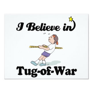 i believe in tug of war card