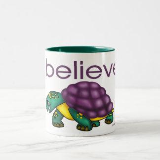 I believe in Turtles Mugs