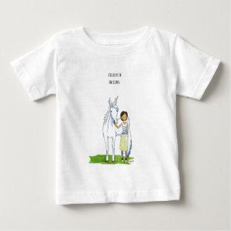 i believe in unicorns baby T-Shirt