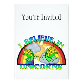 I Believe In Unicorns Card