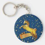 I believe in Unicorns Key Chain