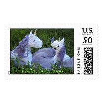 I Believe in Unicorns Postage
