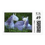 I Believe in Unicorns Stamp