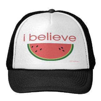 I believe in Watermelon Trucker Hat