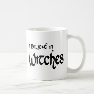 I Believe In Witches Classic White Coffee Mug