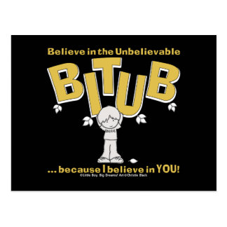 I believe in YOU! Postcard