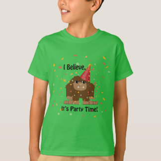 I Believe it's Party Time Sasquatch T-Shirt