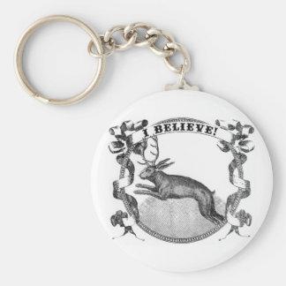 I Believe (Jackalope) Keychains