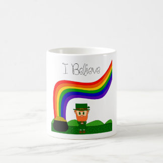 I Believe - Leprechaun Coffee Mug