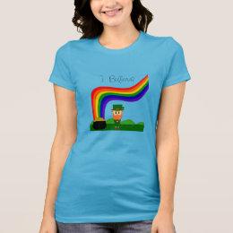 I Believe - Leprechaun T-Shirt