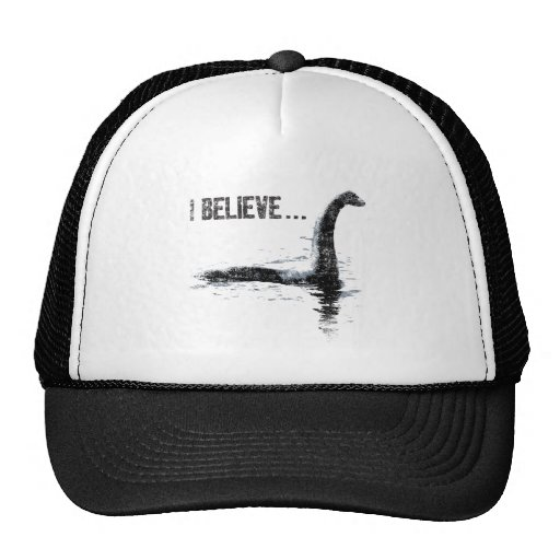I Believe ... Lochness Monster Hat