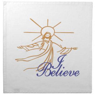 I Believe Napkin