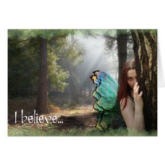 I believe... notecards card