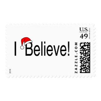 I Believe Postage Stamp