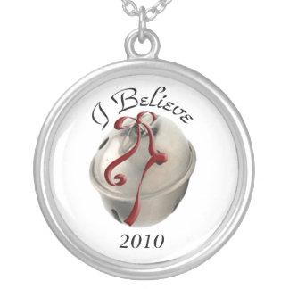 I Believe Reindeer Bell Necklace
