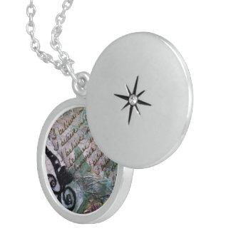 I Believe Round Locket Necklace