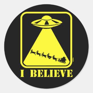 I believe round stickers