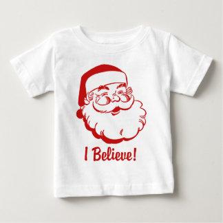 I Believe Santa Claus Infant T-shirt